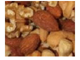 Nuts as an organic food
